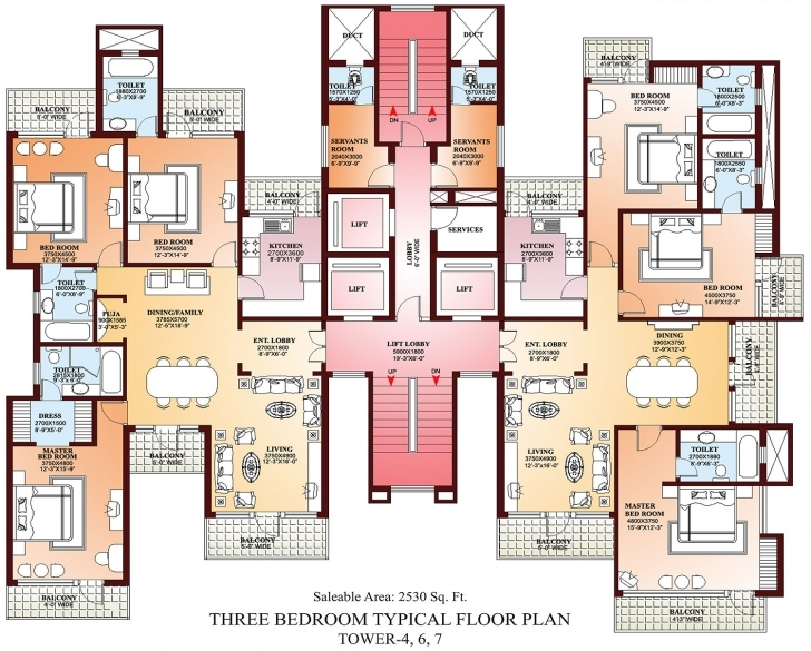 Interesting Amazing Of Gallery Of Floorplans At Apartment Floor Plans #6292 House Plans For 6 Bedroom Flat Picture