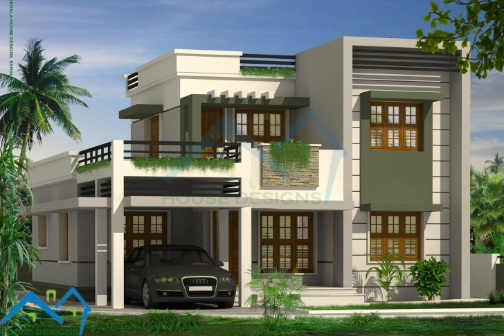 Interesting Contemporary Home Design Kerala Contemporary House Model Kerala Photo