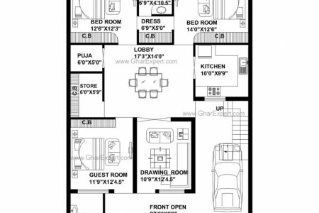 50Ft House Map
