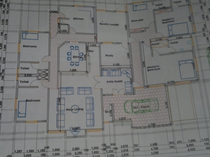 Interesting House Plan Nigeria Unique 5 Bedroom Bungalow Floor Plans In Nigeria 5 Bedroom Floor Plan In Nigeria Image
