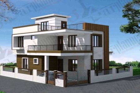 Front Elevation Duplex Banglo Com