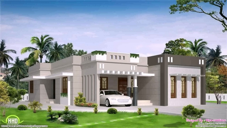 Interesting Kerala Home Design Single Floor Plan - Youtube Kerala Home Design Single Floor Plan Photo