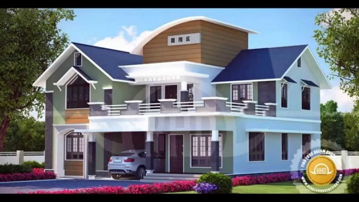 Interesting Kerala Home Designs - Youtube Kerala Home Design Picture