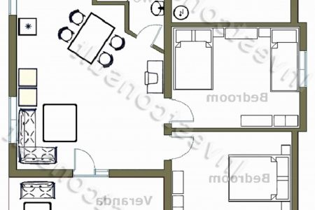 Small 2 Bedroom House Plans South Africa