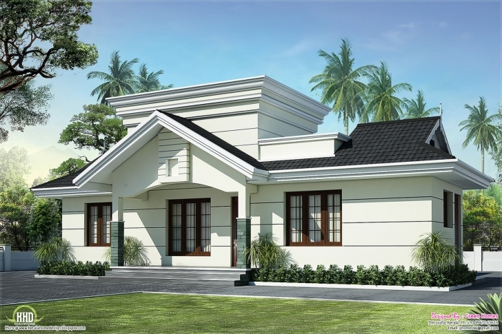 Interesting Nano Home Plan And Elevation In 991 Square Feet - Kerala Home Design Nano Home Designs Image Image