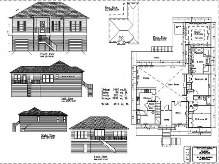Interesting Residential House Plans And Elevations Unusual Ideas House Plans House Floor Plans Elevations Pic