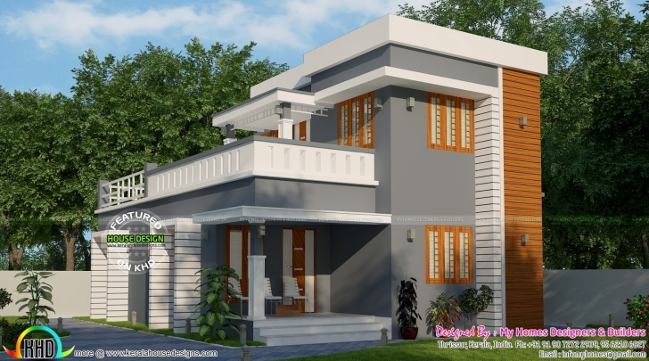 Interesting Simple Low Budget 3 Bedroom House | Kerala Home Design | Bloglovin' Low Budget Modern 3 Bedroom House Design In India Photo