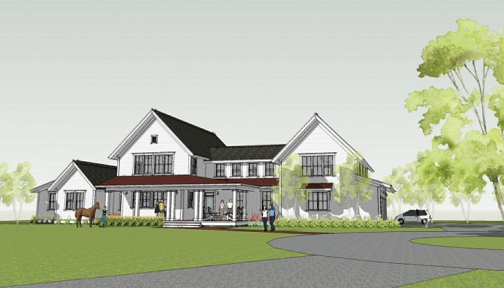 Interesting Simply Elegant Home Designs Blog Modern Farmhouse Ron Brenner Modern Farmhouse Plans One Story Picture