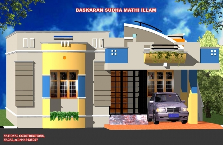 Interesting Single Floor House Plan Elevation Luxury Stupefying Ground Floor Single Floor Elevation Download Pic