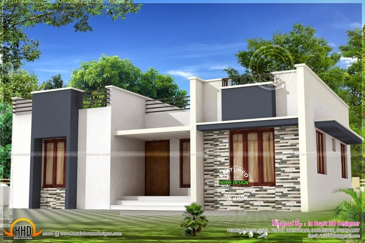 Interesting Single Floor House Plan Elevation Unique Home Design Ground Floor Ground Floor Home Designs Pic