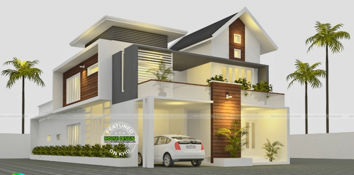 Interesting Splendid Modern Houses By Kerala House Design Amazing Inspirations New House Plans 2017 Kerala Image