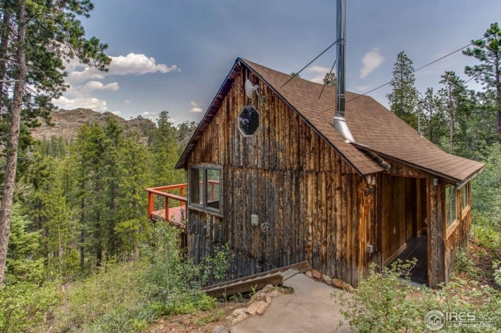 Interesting Tiny Homes For Sale: 3 Petite Properties Across The U.s. - Curbed Rustic Mountain Homes For Sale Pic