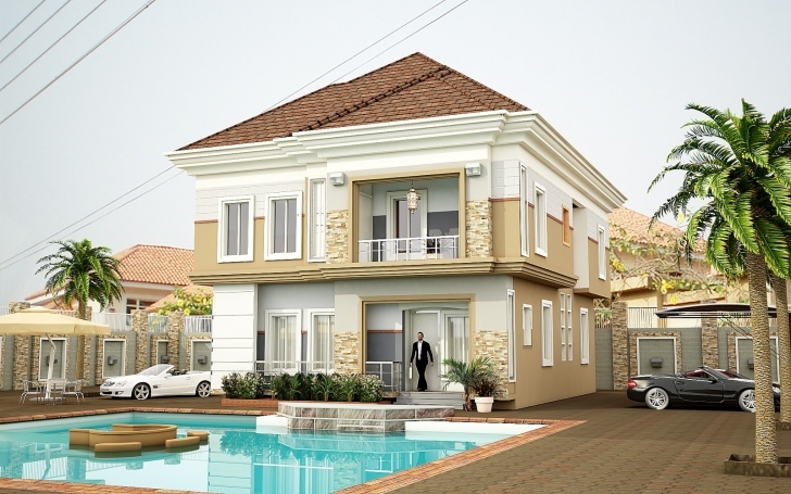 Interesting Top 5 Beautiful House Designs In Nigeria | Jiji.ng Blog Beautiful Mansions In Nigeria Picture