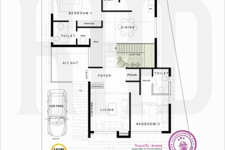 900 Sq Ft House Plans With Car Parking India