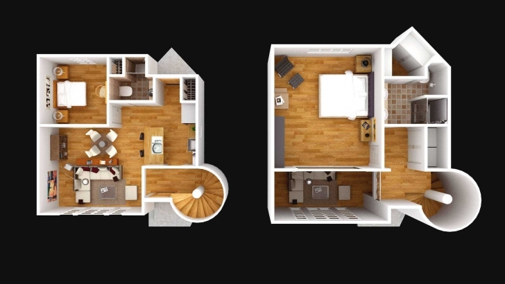 Latest 3D 2 Floor House Plan Images Ideas And Small Planhome Design Storey 2 Storey House Plan 3D Picture
