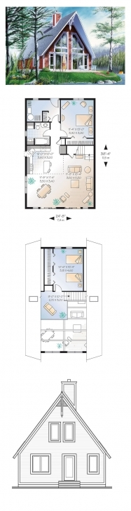 Latest 51 Best A-Frame House Plans Images On Pinterest | Architecture A Frame House Plans Photo