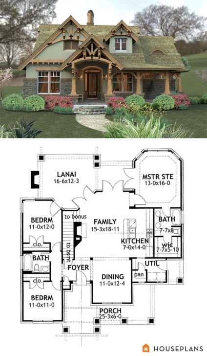 Latest 81 Best Modern Craftsman Plans Images On Pinterest | Modern 3 Bedroom Bungalow In Half Plot Of Land Pic