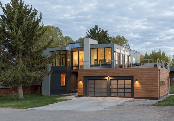 Latest A Modern, Prefab Home In Jackson Hole - Design Milk Modern Prefabricated Homes Image