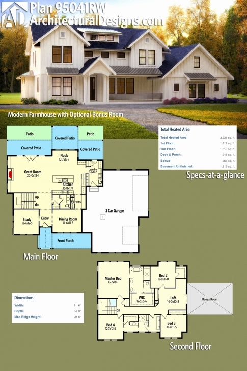 Latest Farm House Floor Plans Elegant Modern Farmhouse Plans - Hous Plans Best Modern Farmhouse Floor Plans Photo