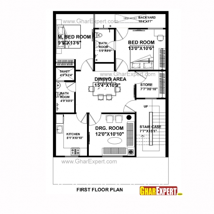 Latest House Plan For 30 Feet By 45 Feet Plot (Plot Size 150 Square Yards 45 Yards 3D Houses Photo