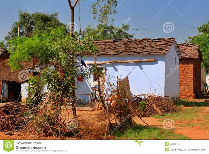 Latest Indian Village Houses Stock Image. Image Of Pradesh, Rural - 3733413 Indian Village Small House Images Pic