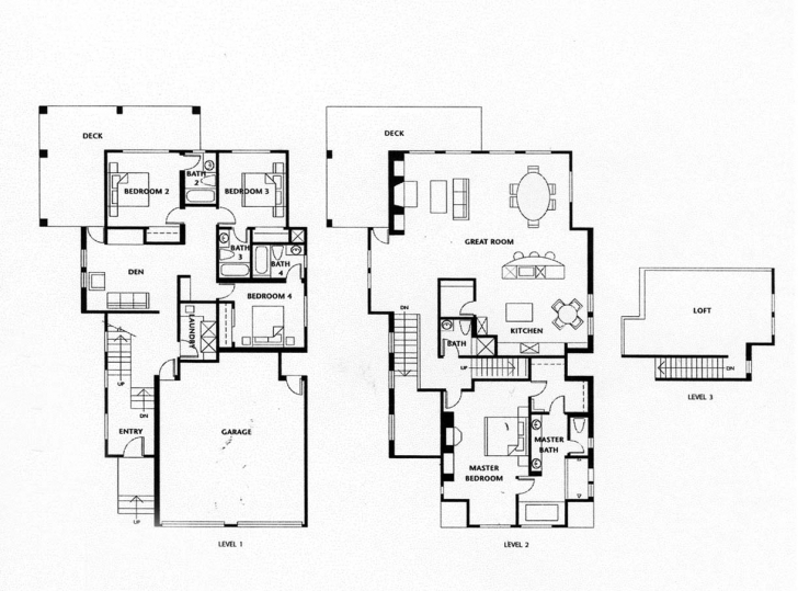 Latest Luxury 4 Bedroom House Plans - Homes Floor Plans 4 Bedroom House Floor Plans In Nigeria Picture