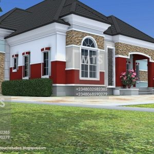 5 Bedroom Bungalow Plan In Nigeria