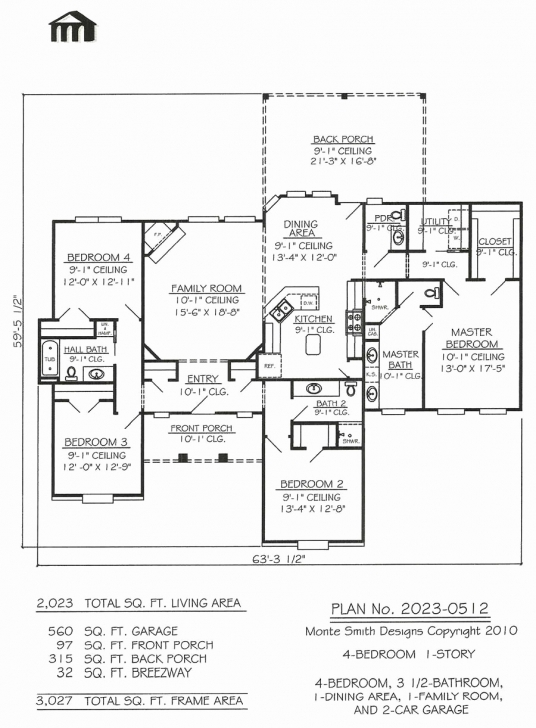 Latest Small House Floor Plans Without Garage Inspirational House Plans No Simple 4 Bedroom House Plans Without Garage Photo