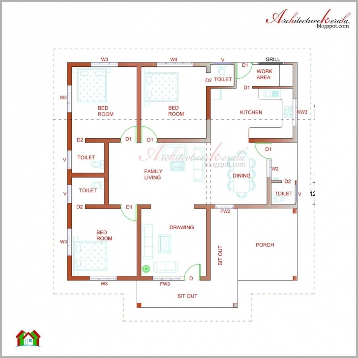 Latest Small Low Cost House Plans Or Kerala House Plan Photos And Its Low Cost Kerala Housing Plans Image