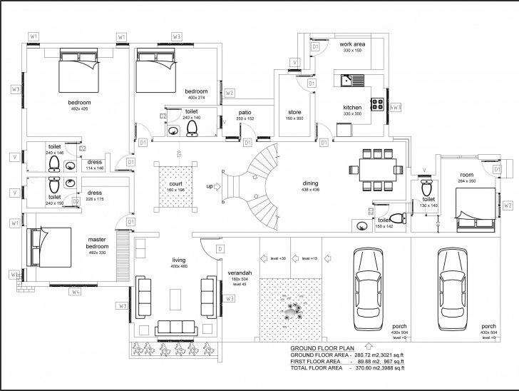 Latest Very Modern Beautiful Kerala House With Plans Kerala House Planning Pic