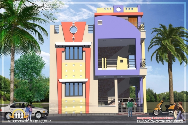 Marvelous 1582 Sq.ft. India House Plan | Home Appliance Small House Plans In South Indian Style Photo