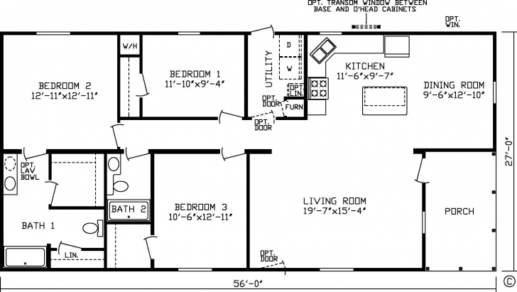 Marvelous 20 X 60 Homes Floor Plans - Google Search | Small House Plans South Facing House Plans 20 X 60 Picture