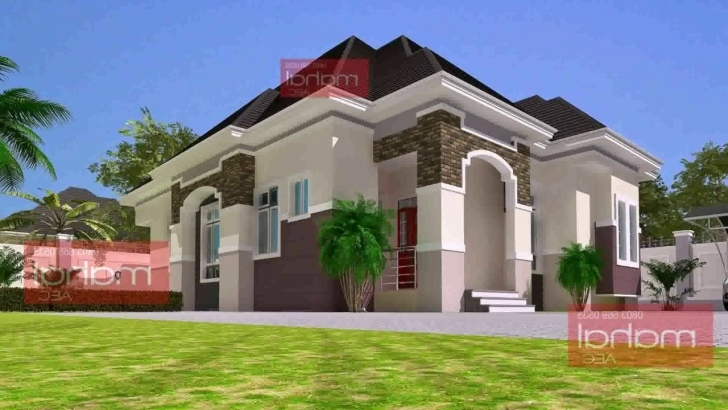 Marvelous 3 Bedroom Bungalow House Plans In Nigeria - Youtube Three Bedroom Bungalow Floor Plan In Nigeria Picture
