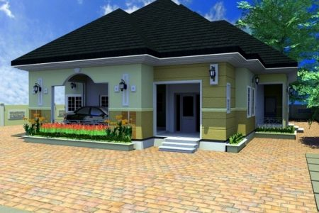 4N Bedroom Bungalow Architectural Design