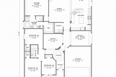 4 Bedroom House Floor Plans In Ghana