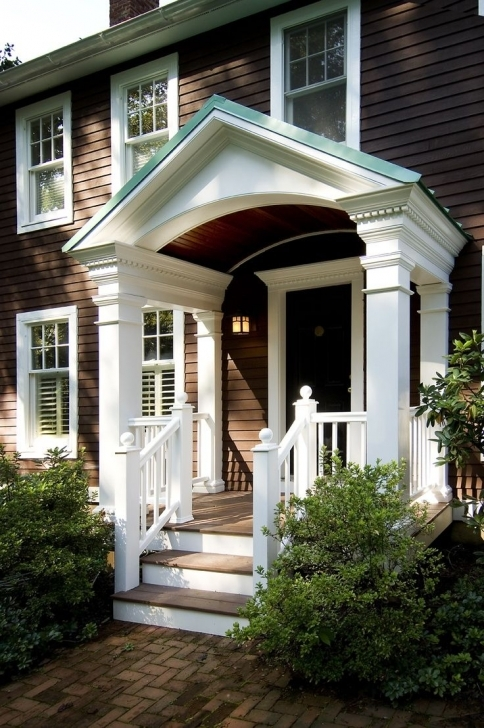 Marvelous 73 Best Porch Images On Pinterest | Entrance Doors, Front Entrances Front House Square Pillar Designs Picture