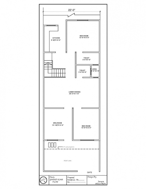 Marvelous Bathroom : Duplex House Plans X Duplex North Facing Plan Plan 15 X 15 X 45 Duplex House Plan Picture
