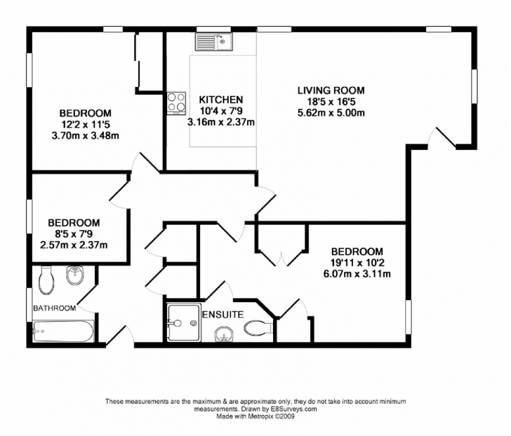 Marvelous Bed: 3 Bedroom Flat Floor Plan Ground Floor Plan Of Four Bedroom Flat Pic