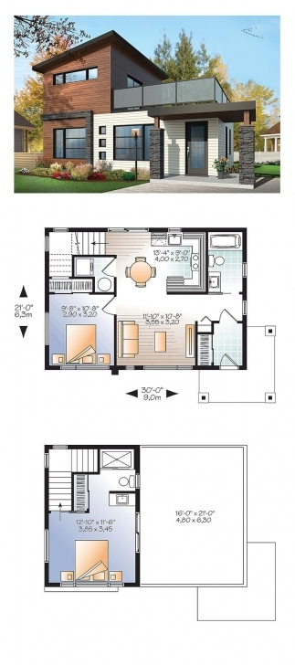 Marvelous Contemporary Modern House Plan 76461 | Modern House Plans, Bedrooms Modern House Plans Image