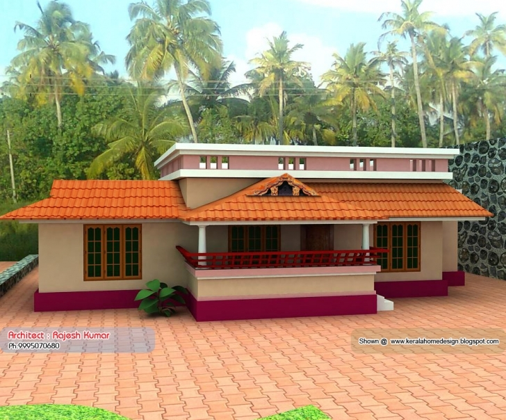 Marvelous Home Plan Elevation Kerala Design Floor - Building Plans Online | #59360 Indian Village House Photo Gallery Image