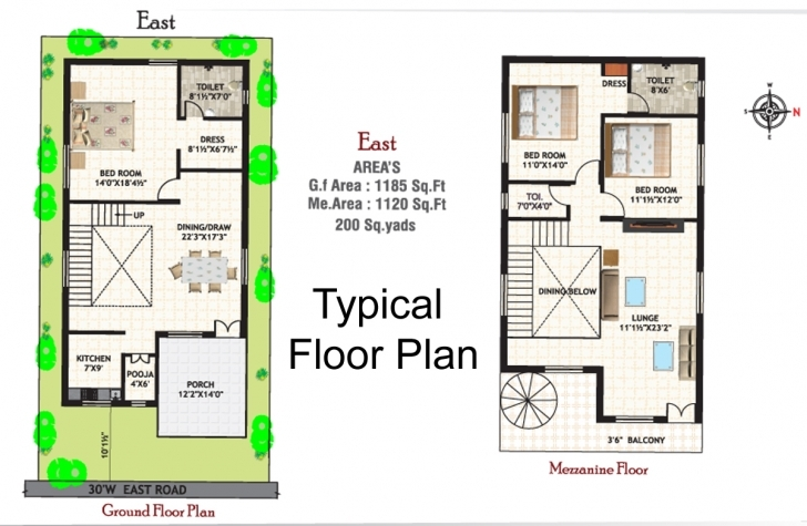 Marvelous House Plan Vastu Plan For East Facing House In Tamil Escortsea East2 30 X 40 Duplex House Plans East Facing With Vastu Image