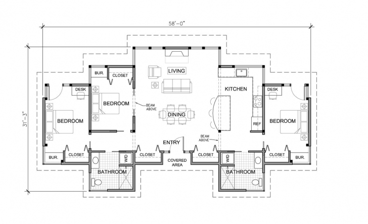 Marvelous Modern House Floor Plans Single Story Here Plan - House Plans | #7892 Modern Single Story House Floor Plans Picture