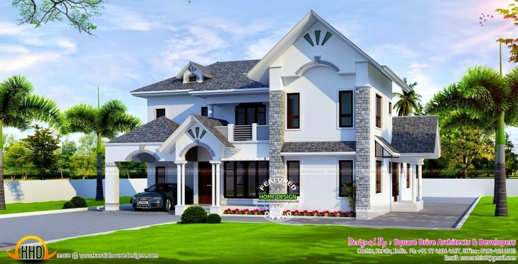 Marvelous Most Beautiful House Plan Remarkable European Style Modern Kerala Beautiful Houses In Africa Picture