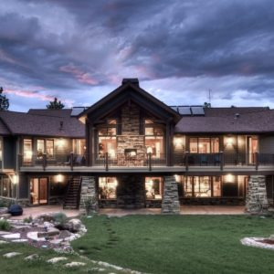 Luxury Mountain Lodge Home Plans