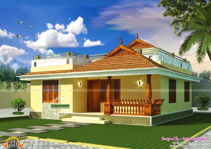 Marvelous Small Kerala Style Home | Kerala, Smallest House And House House Model Kerala Style Picture