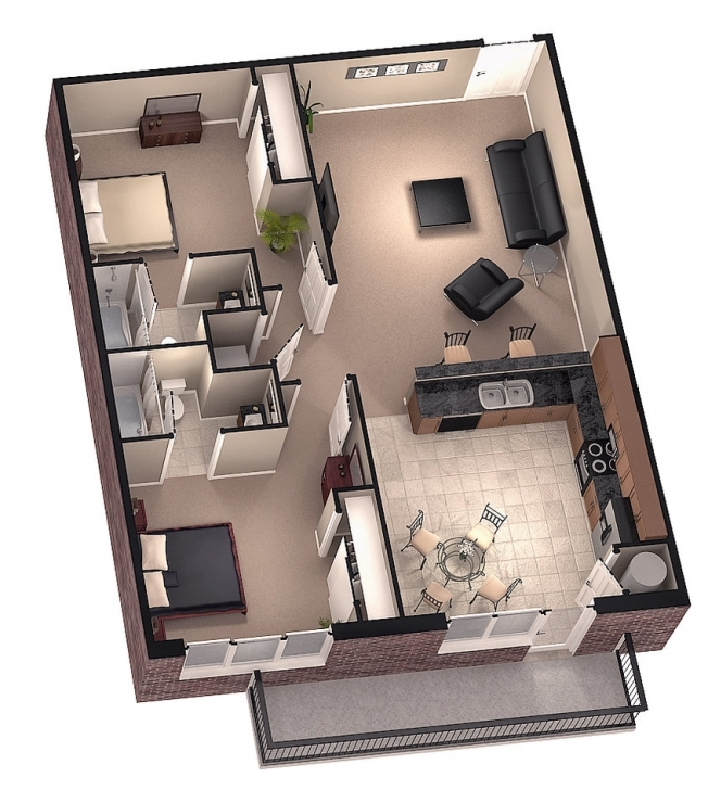 Most Inspiring 20 X 30 Ft House Plans Ideas For 2016 - Condointeriordesign 20*30 House Plans 3D Picture