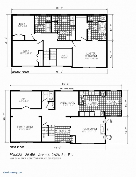 Most Inspiring 50 Beautiful Gallery Simple House Plans Without Garage - Home Simple 4 Bedroom House Plans Without Garage Pic