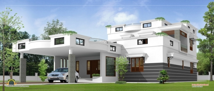 Most Inspiring Beautiful Parapet Roof Home Design Contemporary - Decoration Design Ground Floor House Parapet Image Image