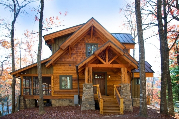 Most Inspiring Excellent Decoration Rustic Mountain Home Designs Rustic Mountain Rustic Mountain Home Picture