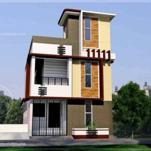 15*50 House Front Design